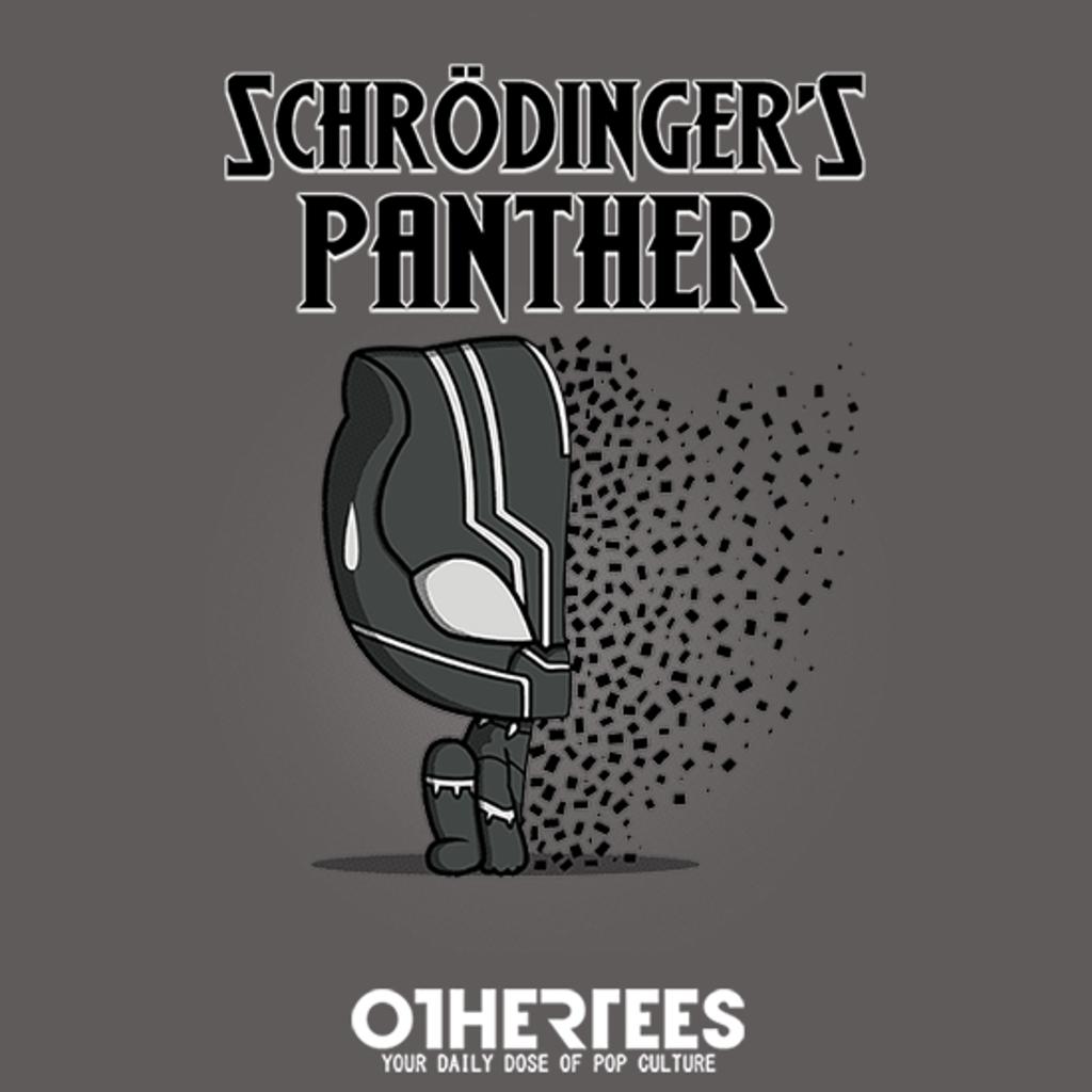 OtherTees: Schrödinger's Panther!