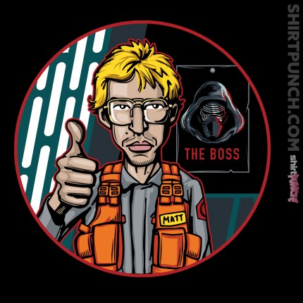 ShirtPunch: Undercover Boss
