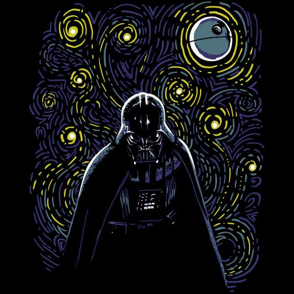 Tee11: Starry Dark Side