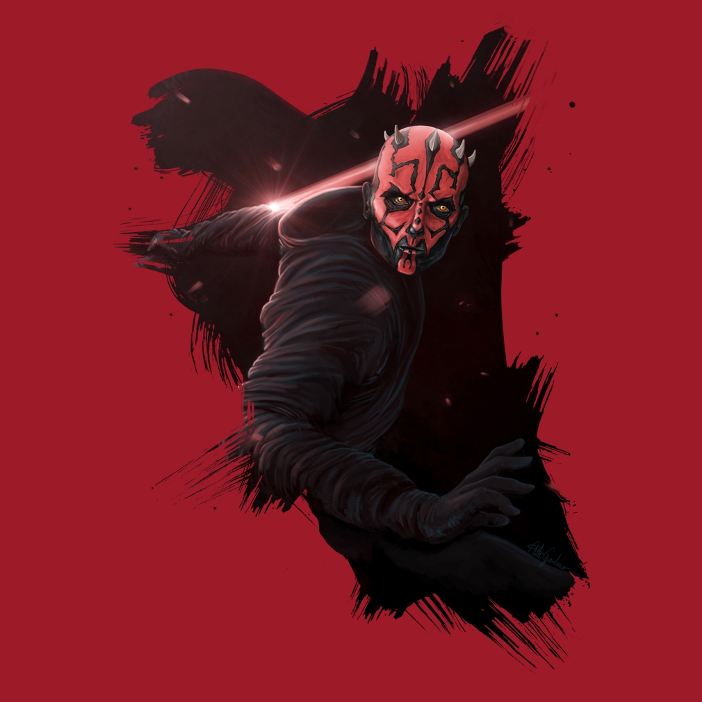TeeTournament: Darth Maul