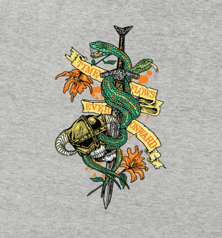 BustedTees: Time Flows Ever Onward