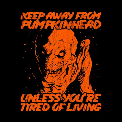 Five Finger Tees: Keep Away From Pumpkinhead T-Shirt