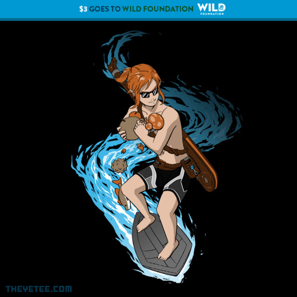 The Yetee: Surfing and Cooking