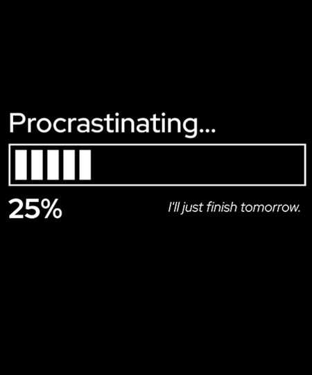 Qwertee: Procrastinating