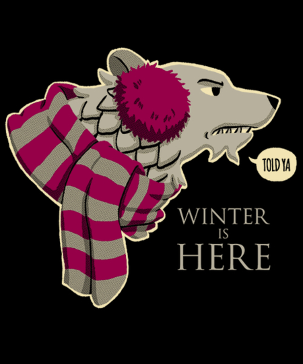 Qwertee: Winter is Here