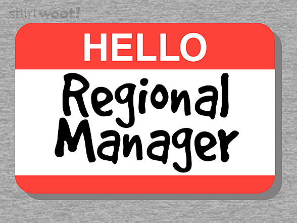 Woot!: Regional Manager