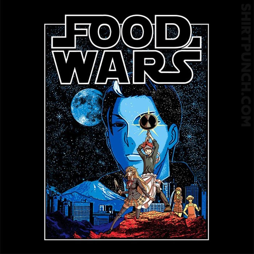ShirtPunch: Food Wars