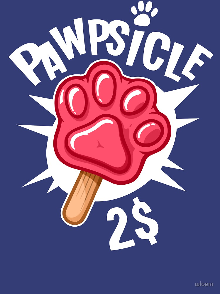 RedBubble: Pawpsicle