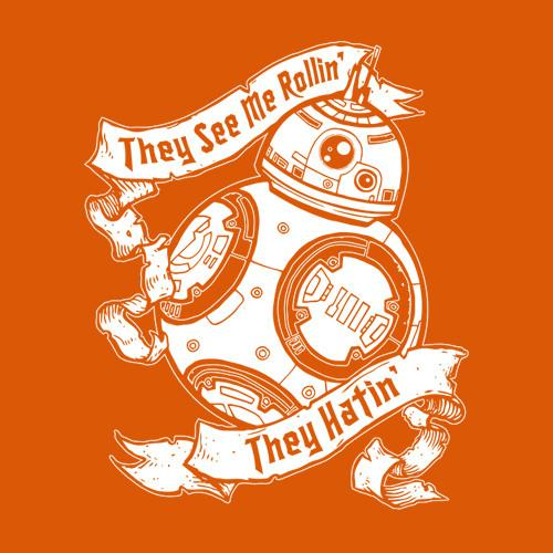 Five Finger Tees: They See Me Rollin' They Hatin' T-Shirt