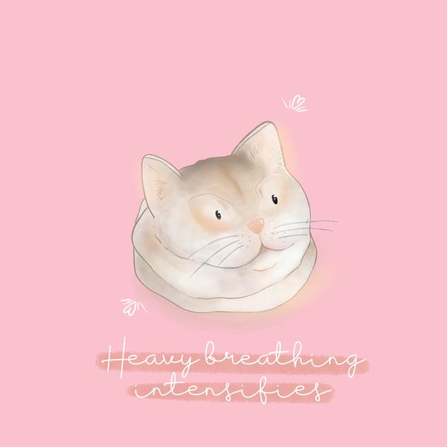 TeePublic: Heavy breathing cat