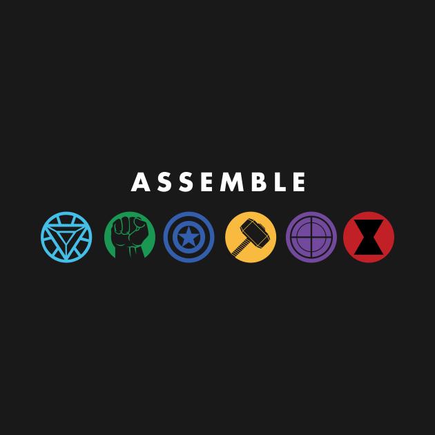 TeePublic: Assemble