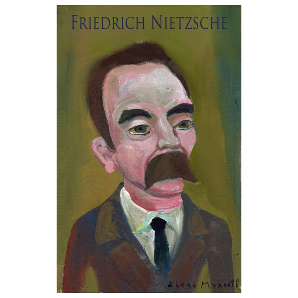 NeatoShop: Friedrich Nietzsche portrait