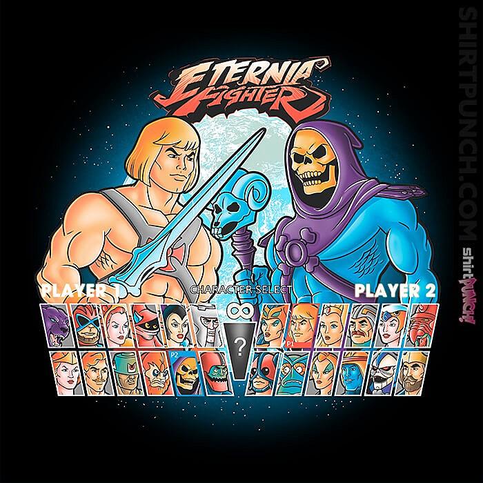 ShirtPunch: Eternia Fighter