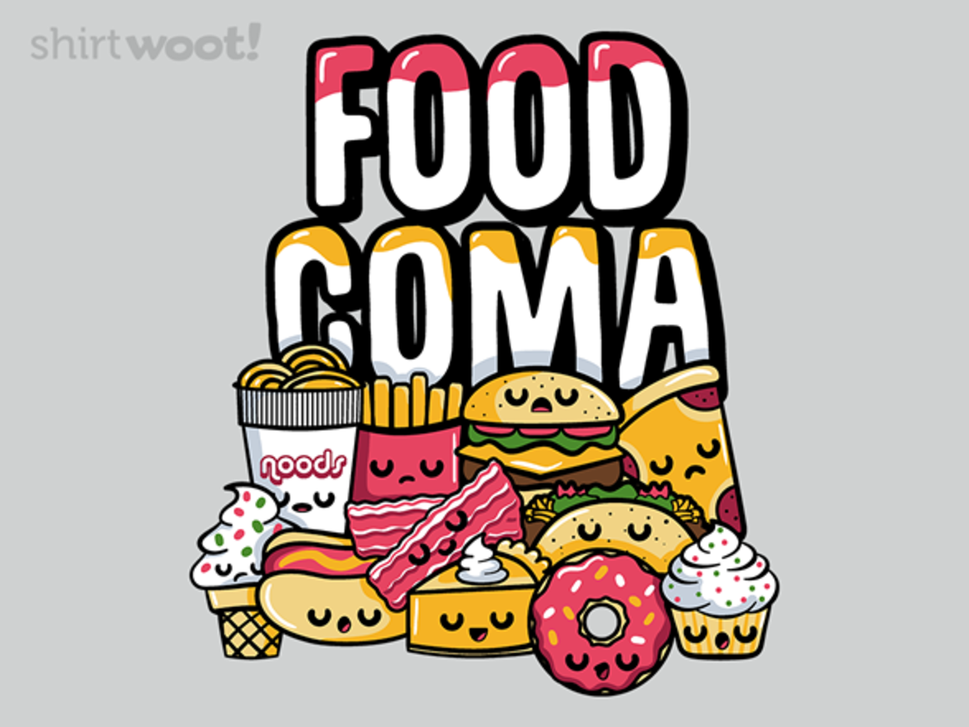 Woot!: Food Coma - $15.00 + Free shipping