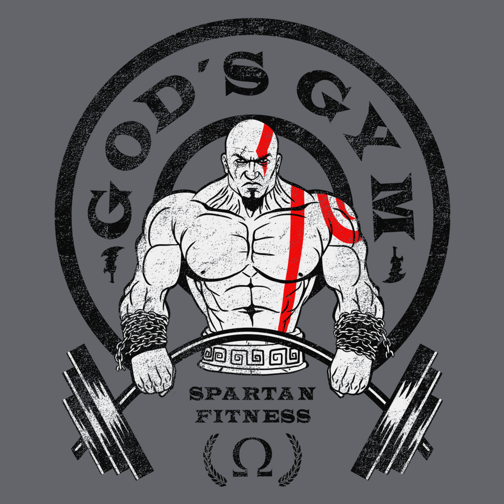 Pop-Up Tee: Gods Gym
