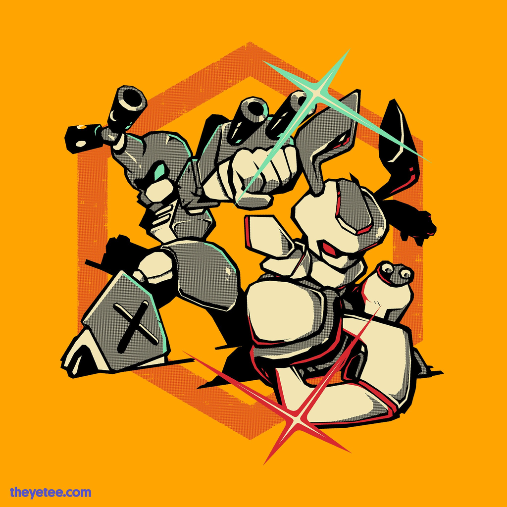 The Yetee: Robot Battle