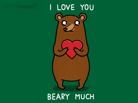 Woot!: Beary Much - $8.00 + $5 standard shipping