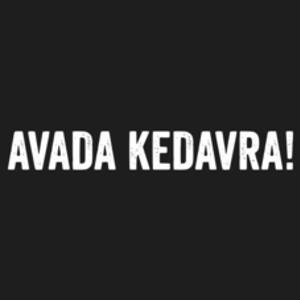 Textual Tees: Avada Kedavra T-Shirt