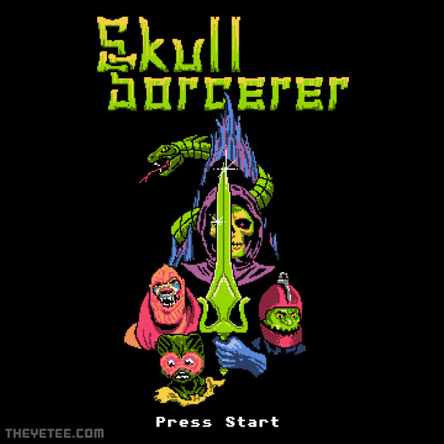 The Yetee: Skull Sorcerer