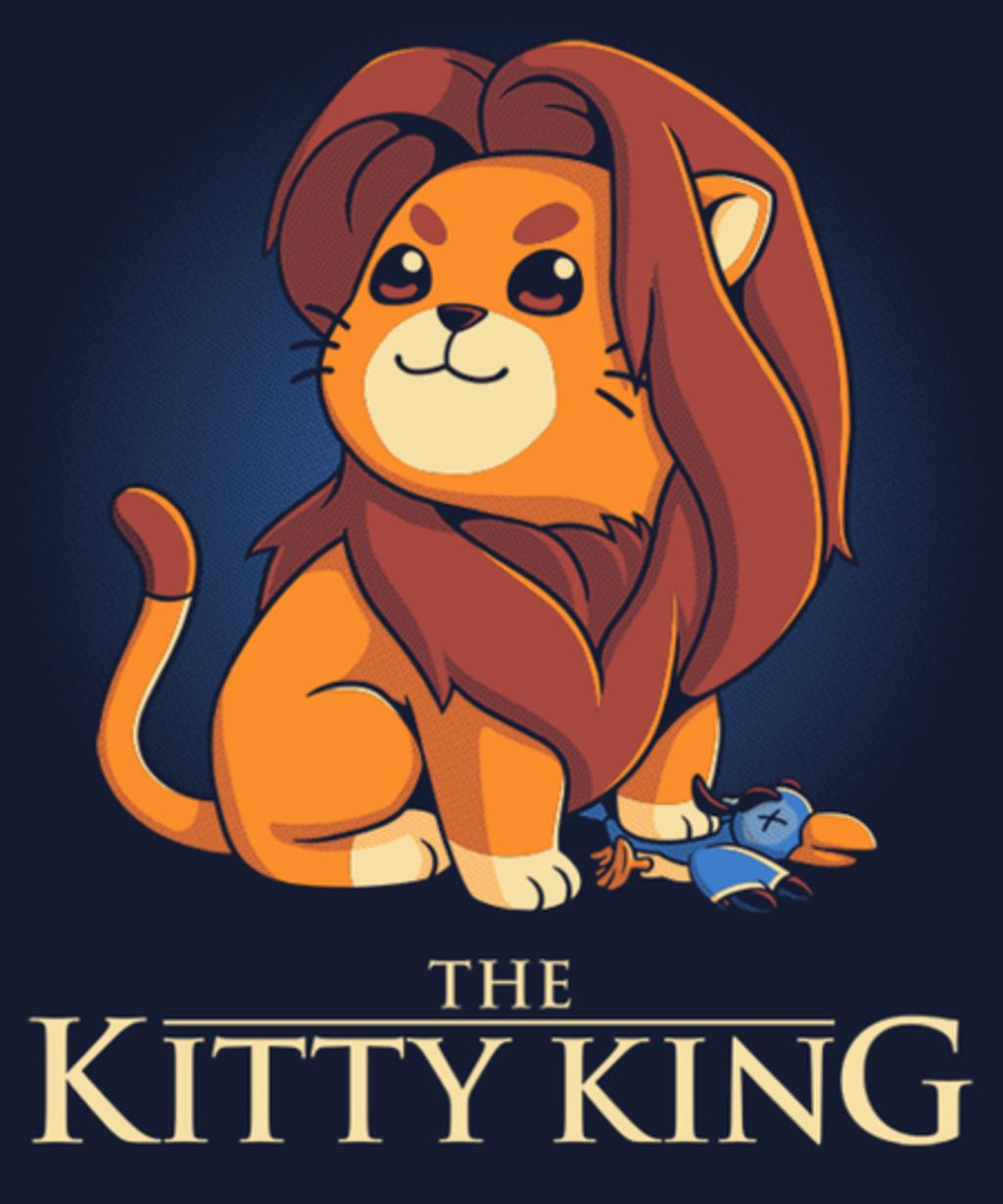 Qwertee: The Kitty King