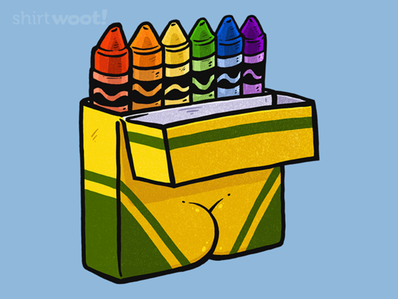 Woot!: Bootyfull Crayons