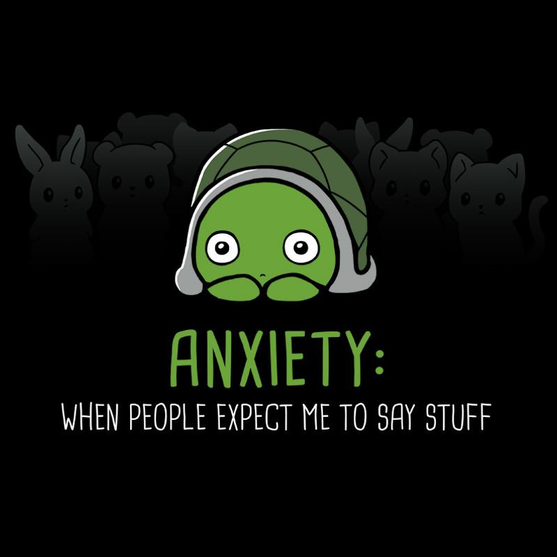 TeeTurtle: Anxiety: Talking