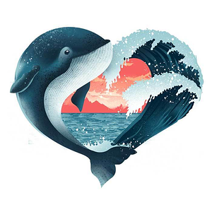 Once Upon a Tee: Whale Love