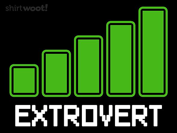 Woot!: I am an Extrovert