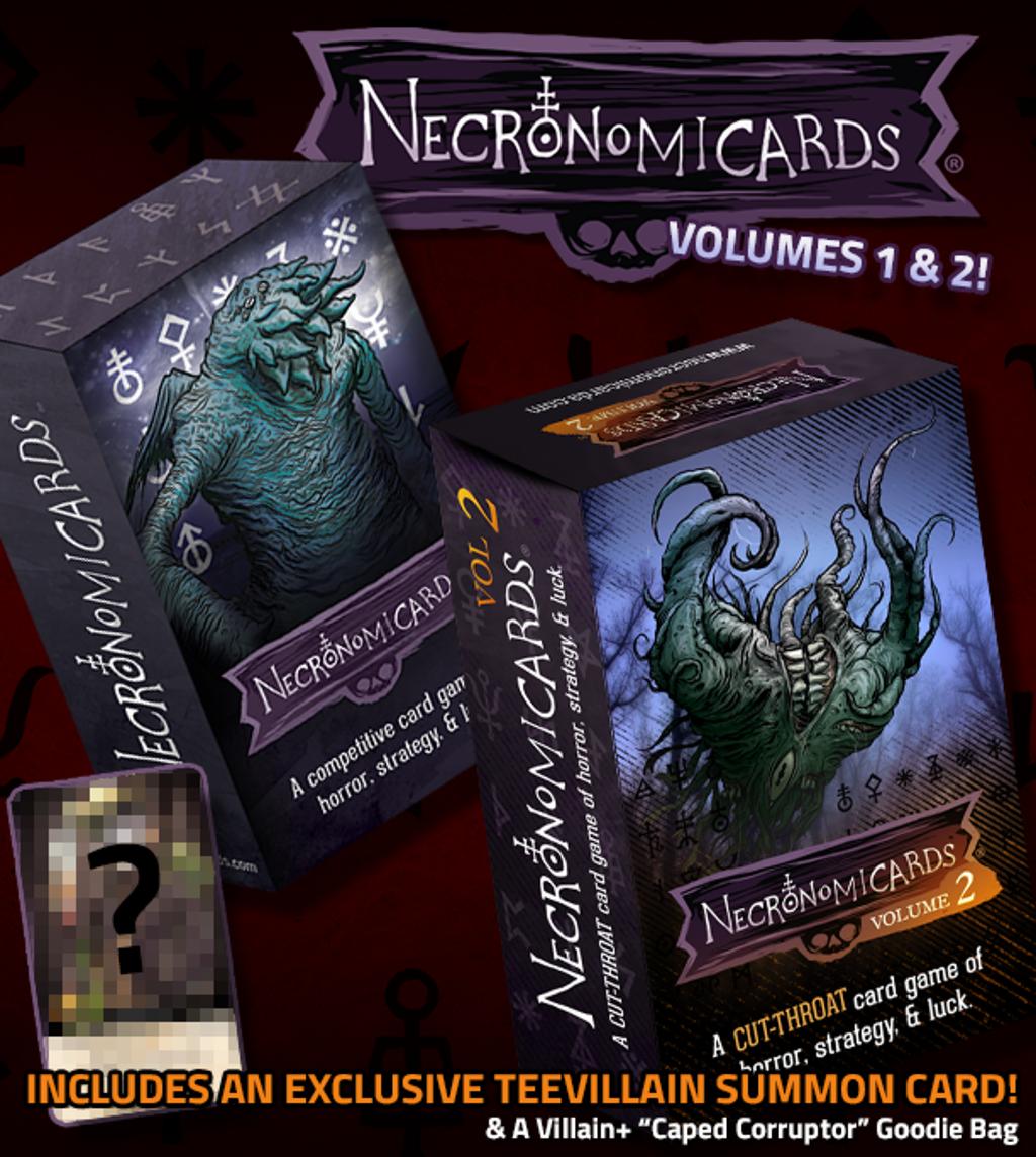 teeVillain: NecronomiCards