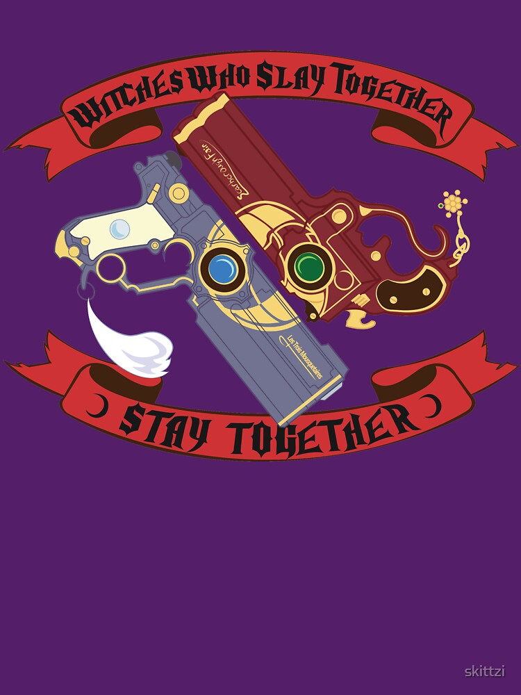 RedBubble: Slay Together, Stay Together - Bayonetta & Jeanne