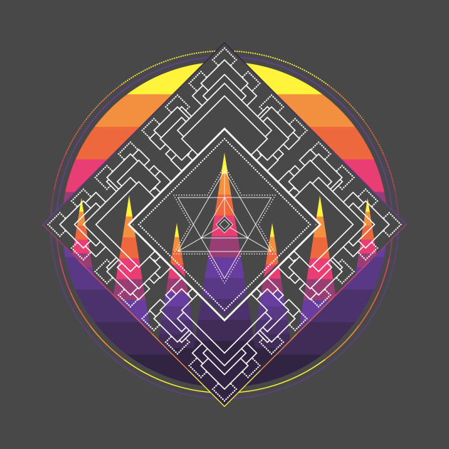 TeePublic: Star Tetrahedron