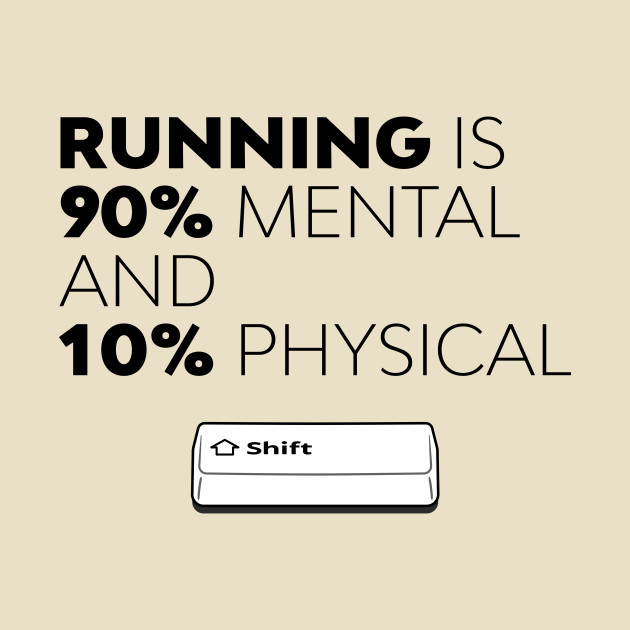 TeePublic: Running Is Mental - SHIFT running series vol. 1 T-Shirt