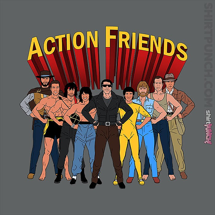 ShirtPunch: Action Friends