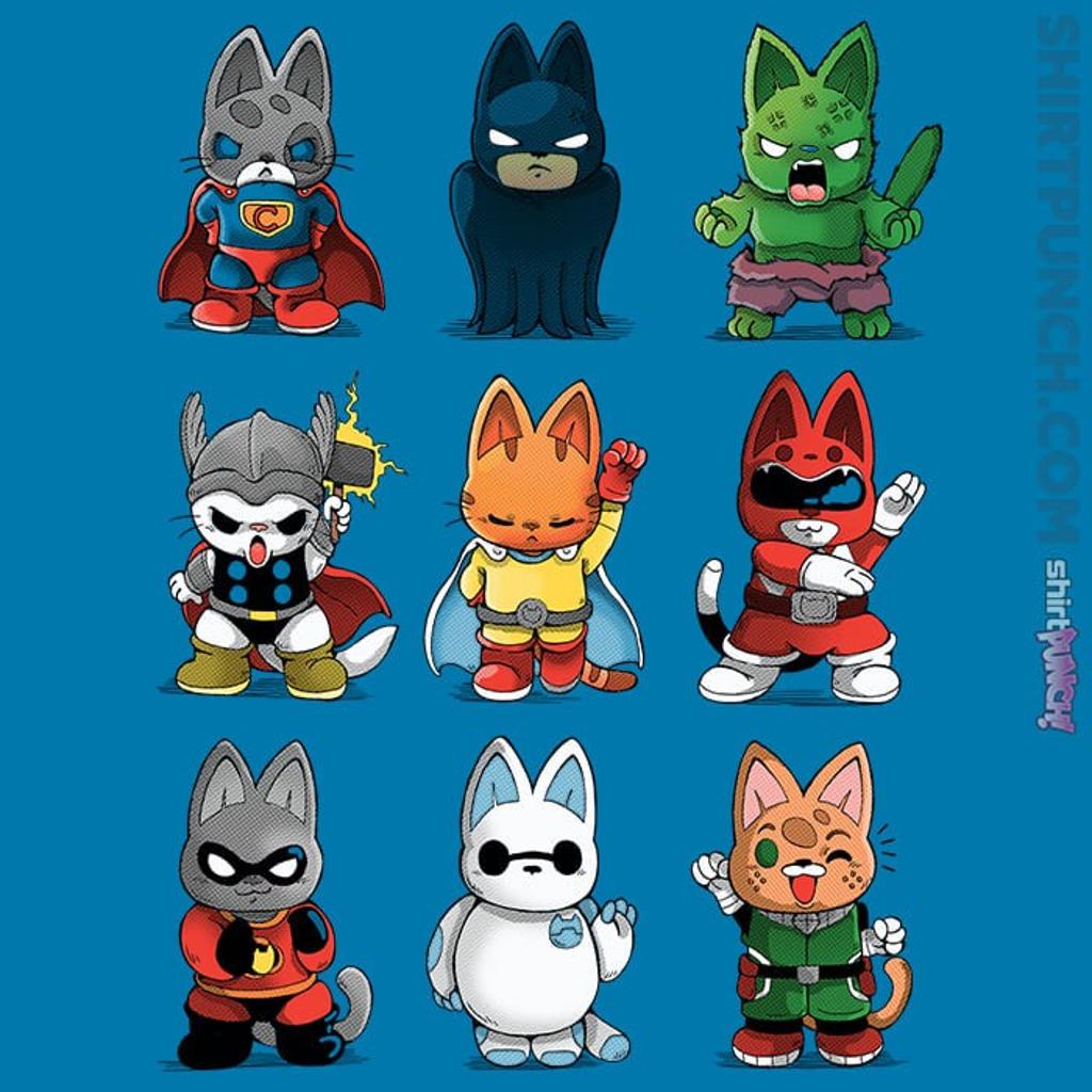 ShirtPunch: Hero Kittens