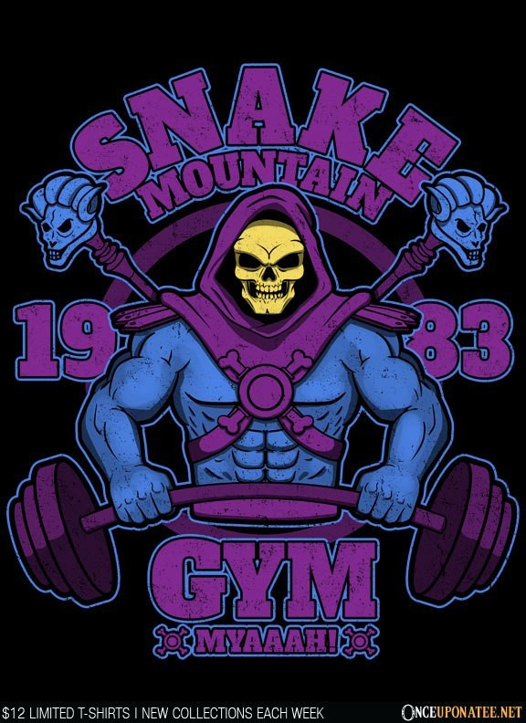 Once Upon a Tee: Snake Mountain Gym