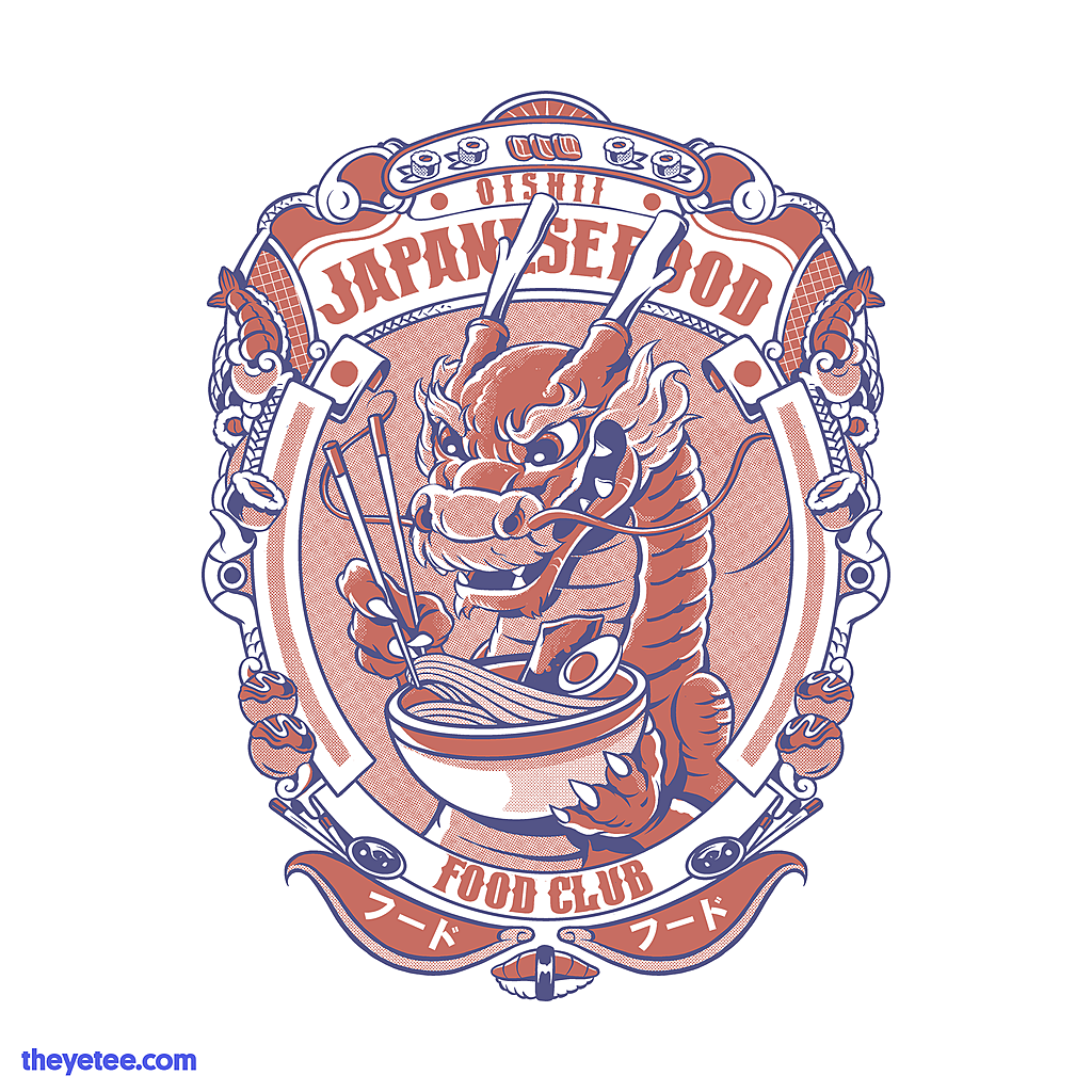 The Yetee: Japanese food club