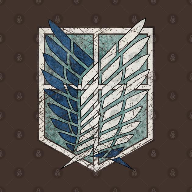 TeePublic: Ultra-Vintage wings of Freedom emblem V01