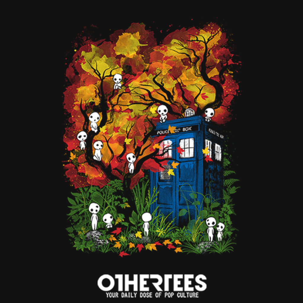 OtherTees: The Doctor in the Forest