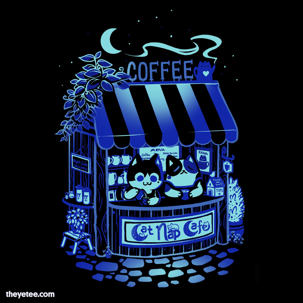 The Yetee: Night Shift Lazy Cafe