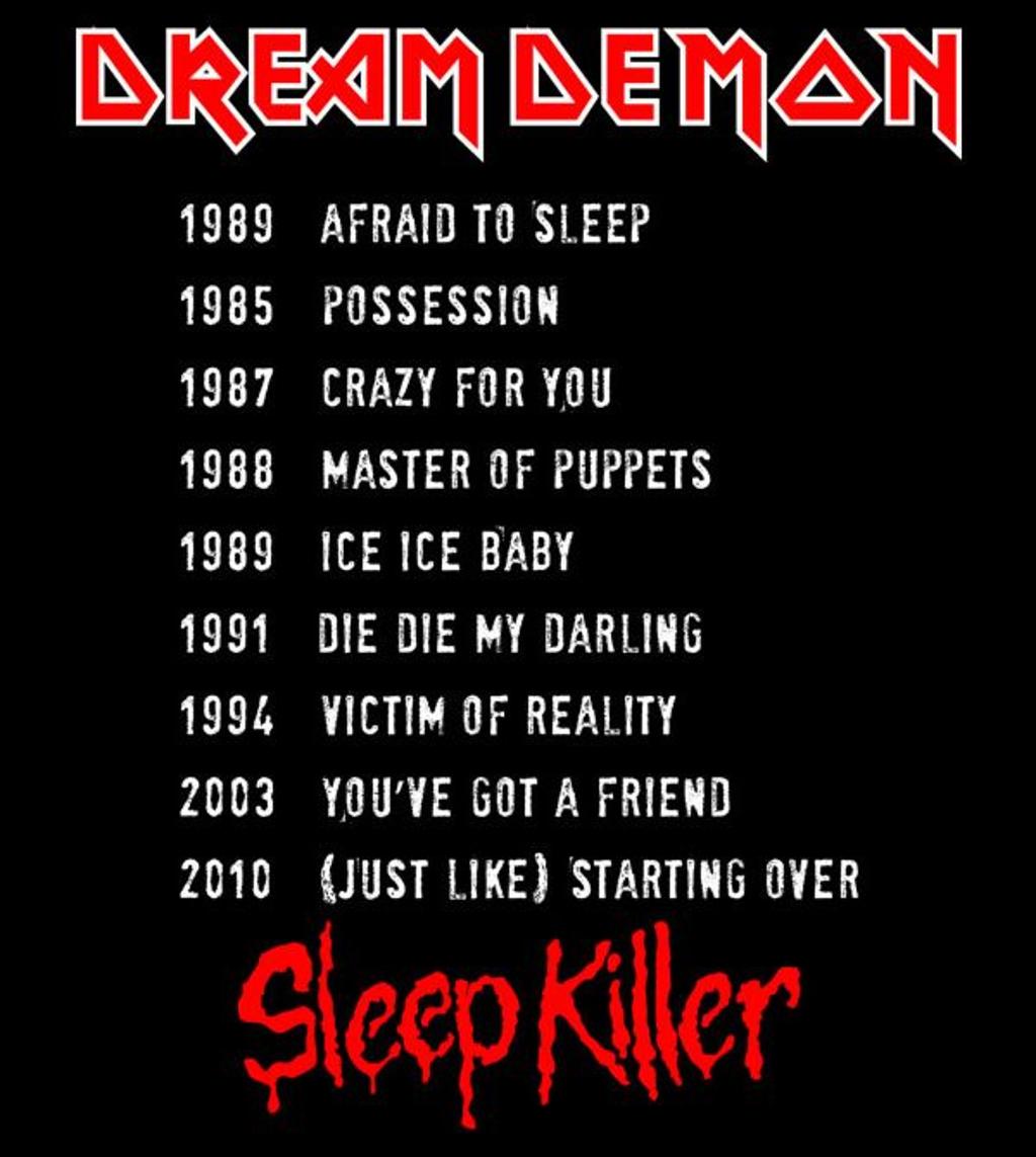 teeVillain: Dream Demon