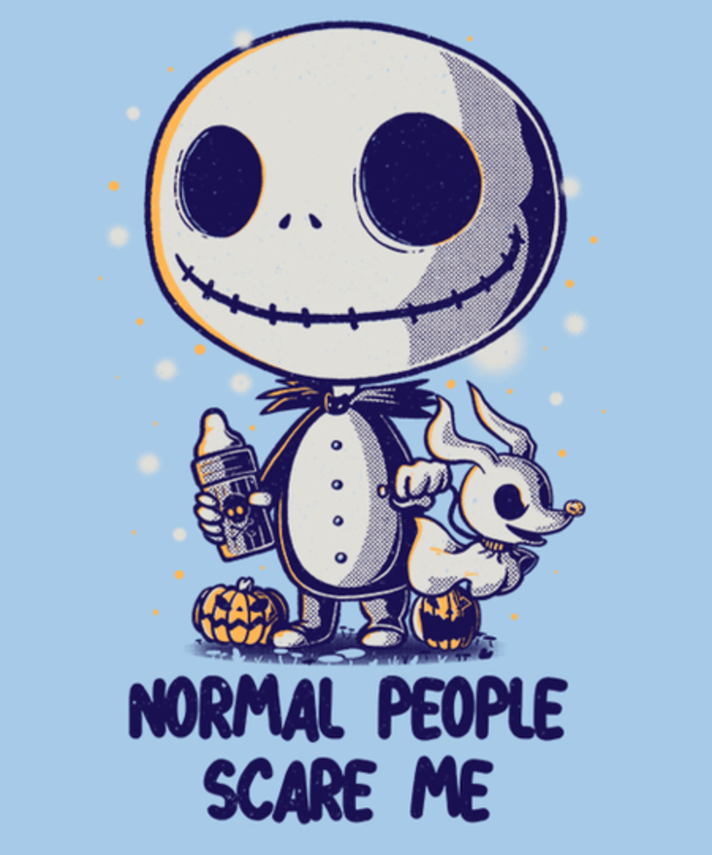 Qwertee: Normal People Scare Me