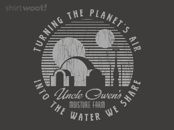 Woot!: Uncle Owen's Moisture Farm