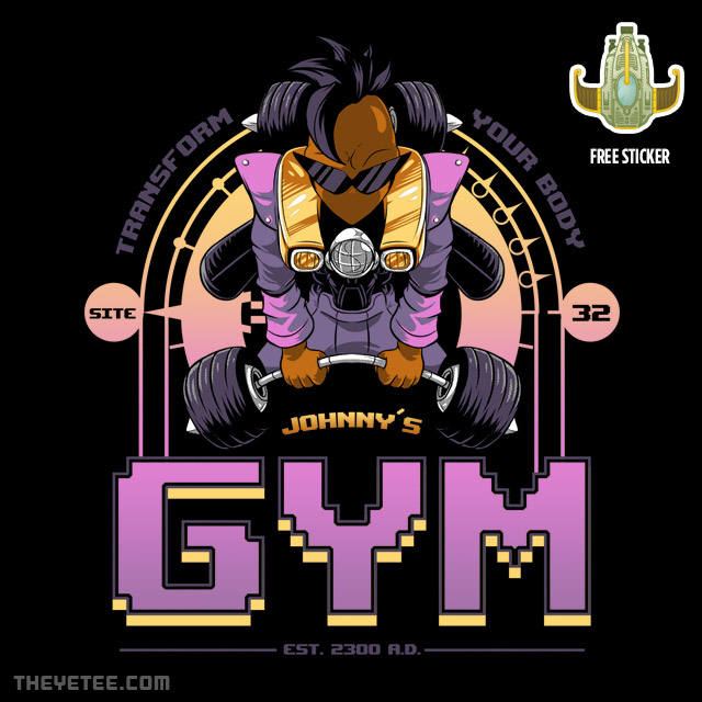 The Yetee: Johnny's Gym