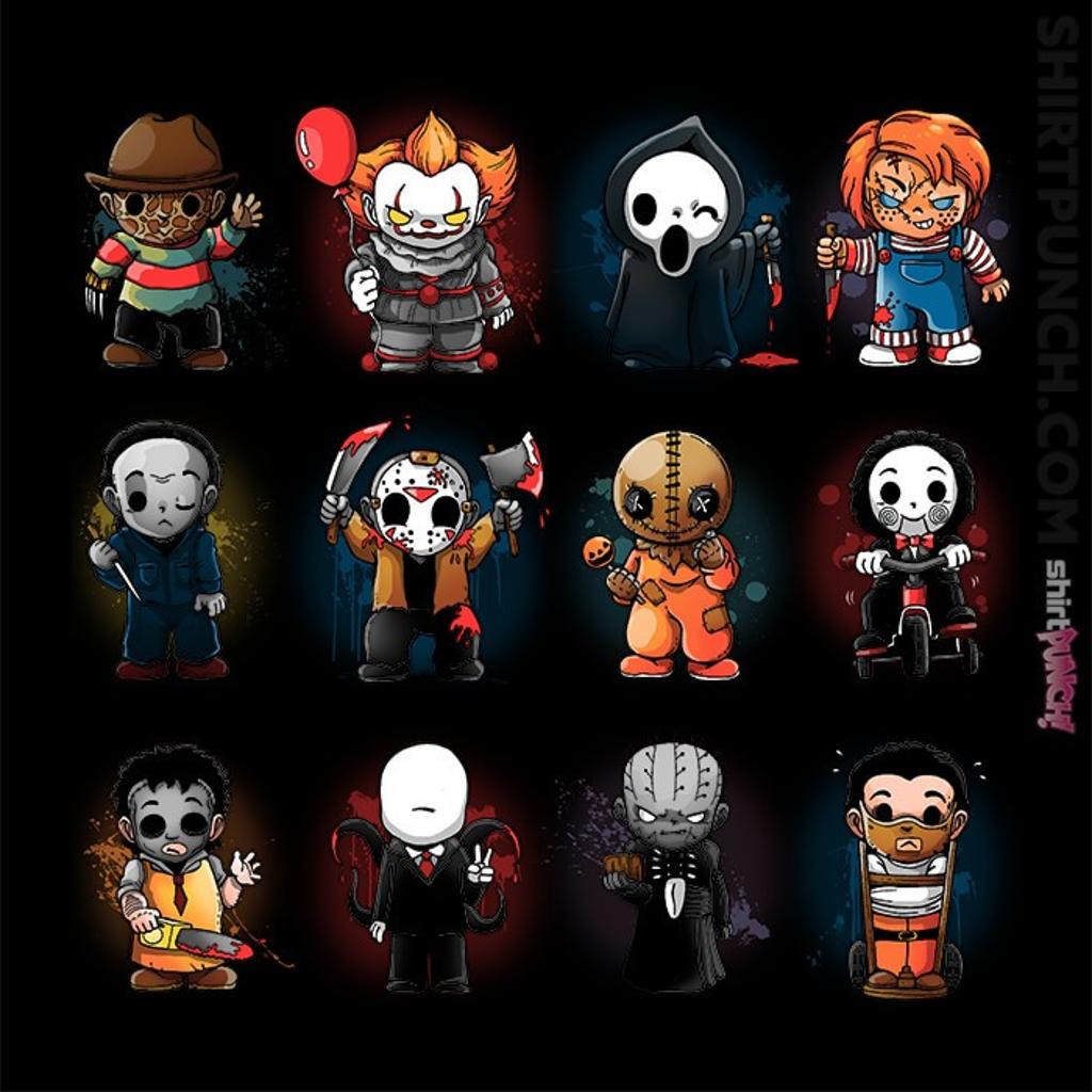 ShirtPunch: Horror Guys