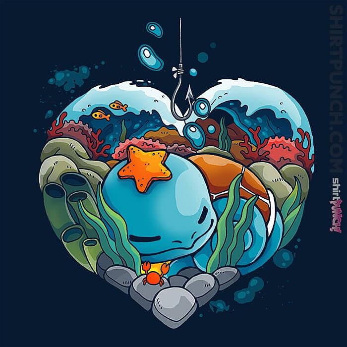 ShirtPunch: Water Valentine