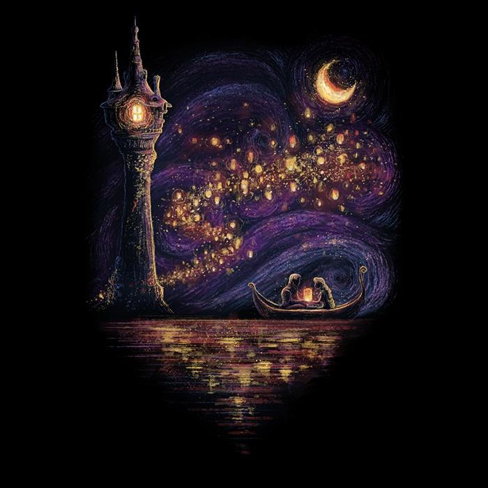 Once Upon a Tee: Lanterns of Hope