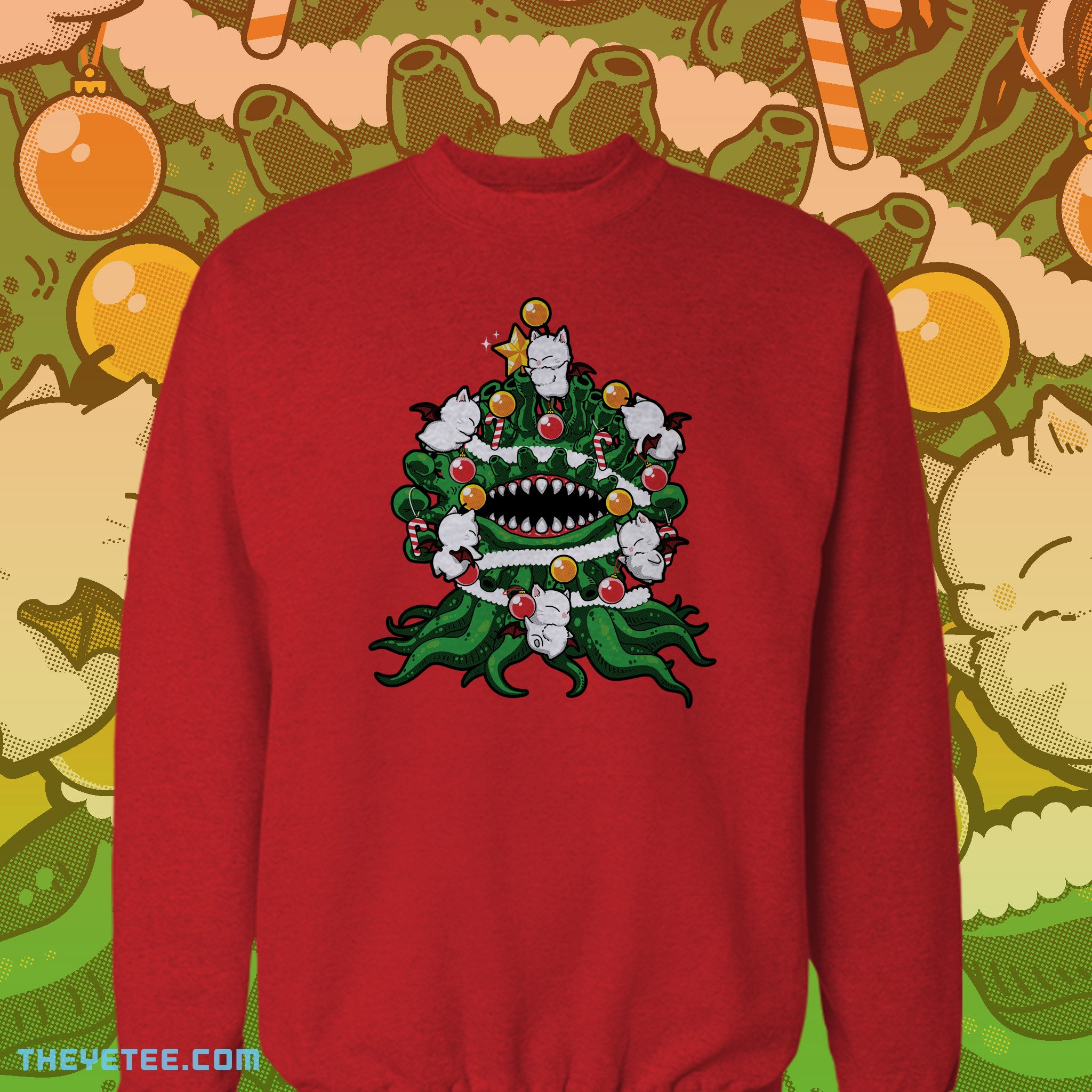 The Yetee: Bad X-Mas Tree
