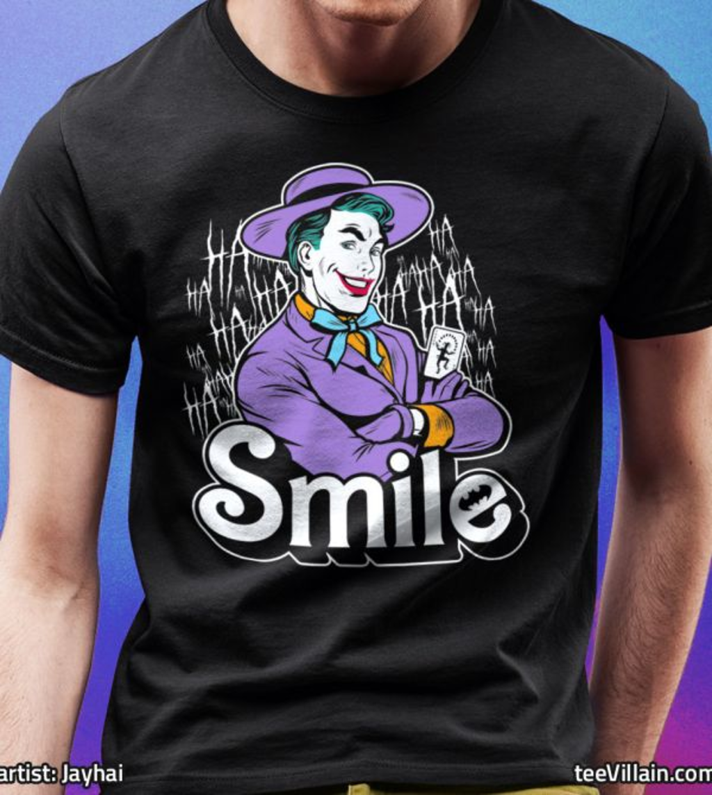 teeVillain: Heartthrob Smile