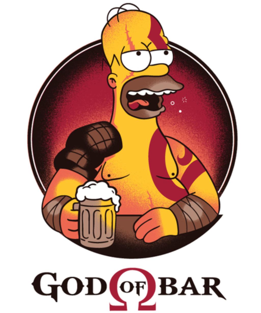 Qwertee: God of Bar