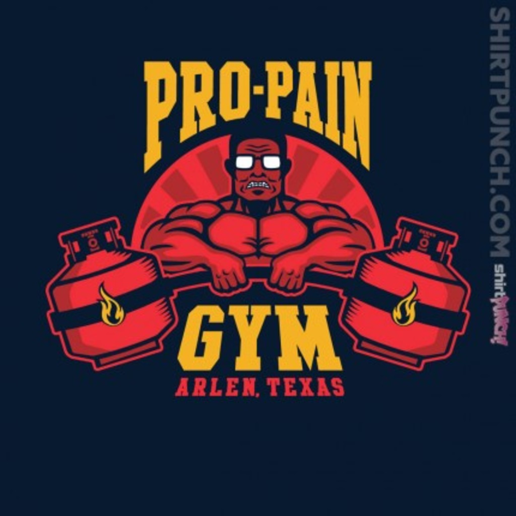 ShirtPunch: Propane Fitness